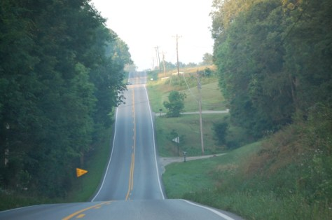 Kentucky Highway 79 south of Caneyville, KY