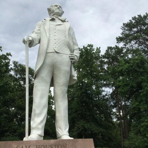 """Big Sam"" in Huntsville, TX"