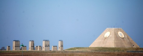The Pyramid in Nekoma, ND