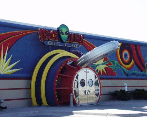 Space Aliens Bar & Grill, Fargo, ND