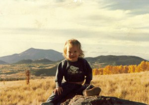 Amaree near San Francisco Peaks in North Arizona 1981