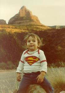 Marissa in Sedona, Arizona 1982