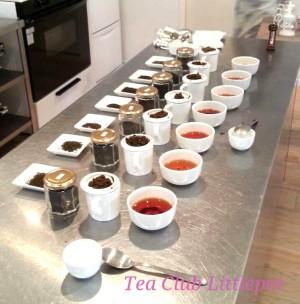 紅茶の基礎と飲み比べ