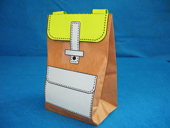 paper bag backpack