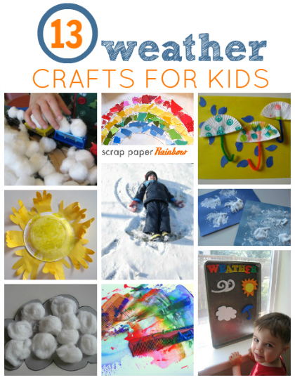 Weather Crafts For Toddlers