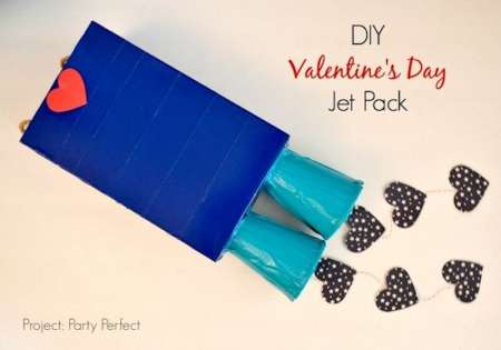 DIY Jet Pack for Valentine's Day