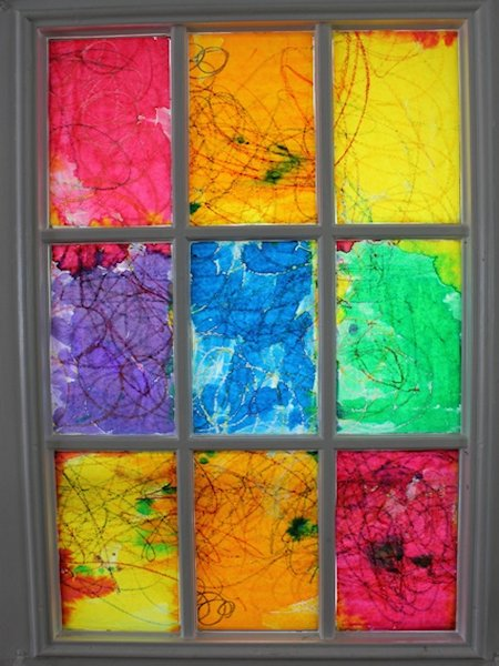 How to Create a Rainbow Stained Glass Window