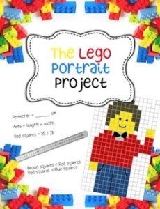 lego portrait project lesson
