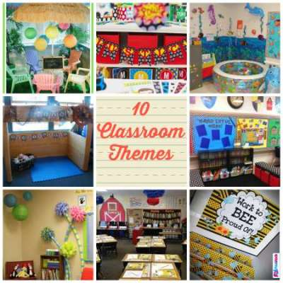 10 class room themes