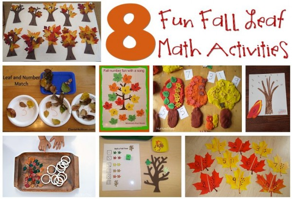 8 Fun Fall Leaf Math Activities