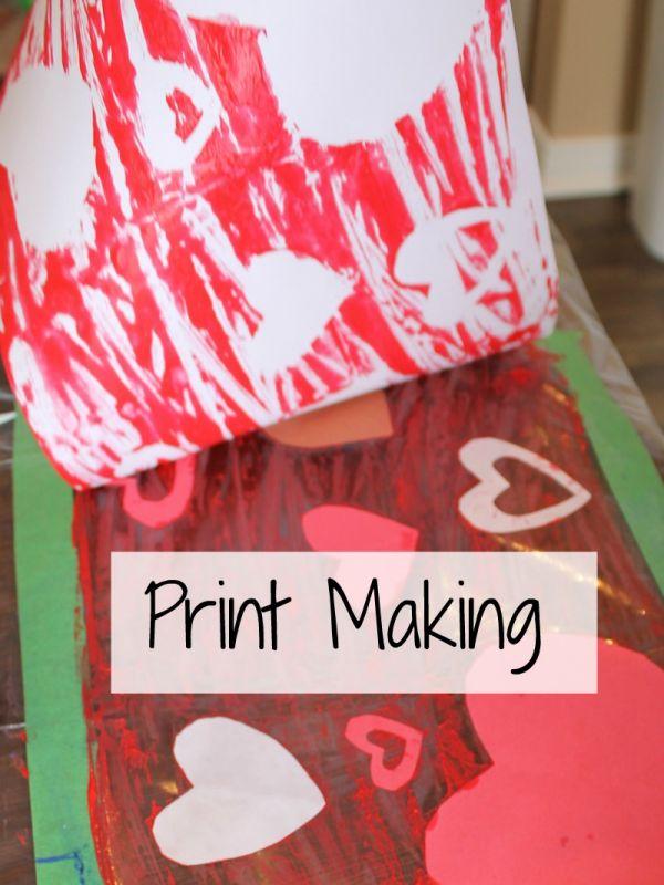 Astonishing Print Making for Kids