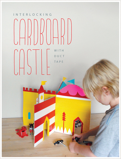 Interlocking Cardboard Castle
