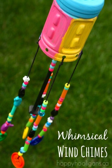 Recycled Bottle Wind Chimes