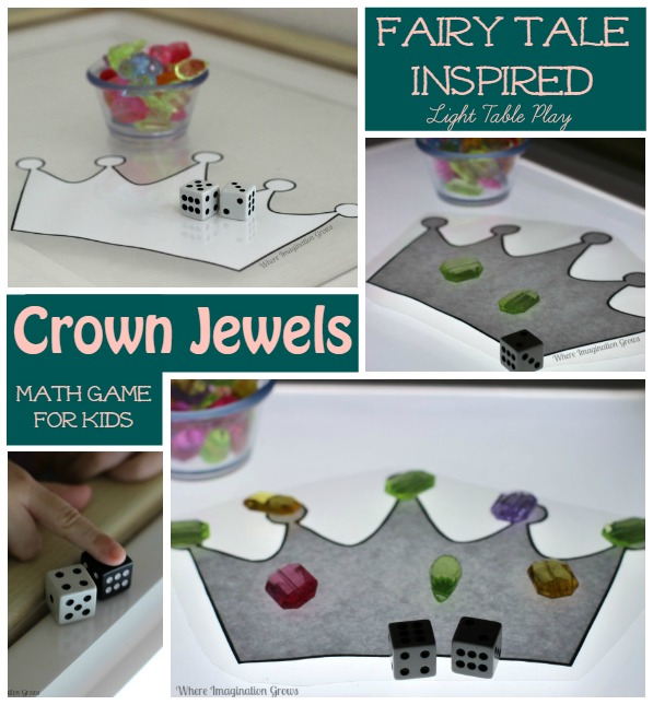 Crown Jewels Math Game