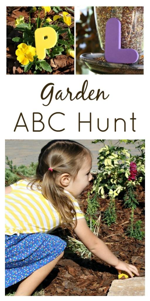 Garden ABC Letter Hunt