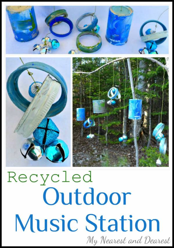 Recycled Outdoor Music Station
