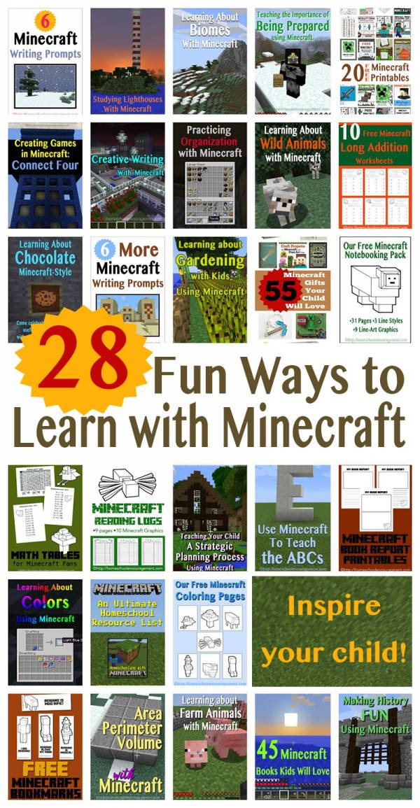 Homeschooling-With-Minecraft-Learning