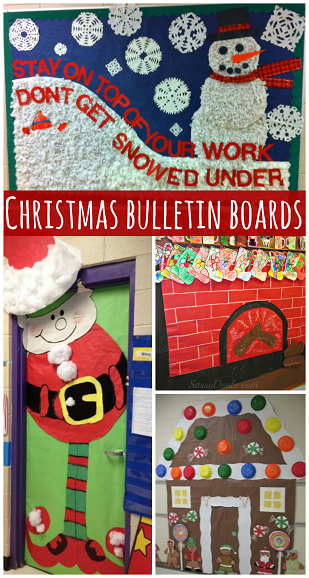 Classroom Ideas Christmas ~ Christmas bulletin board hacks lesson plans