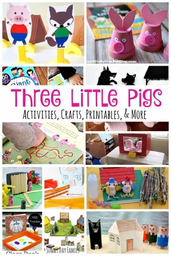 three little pigs activities (1)