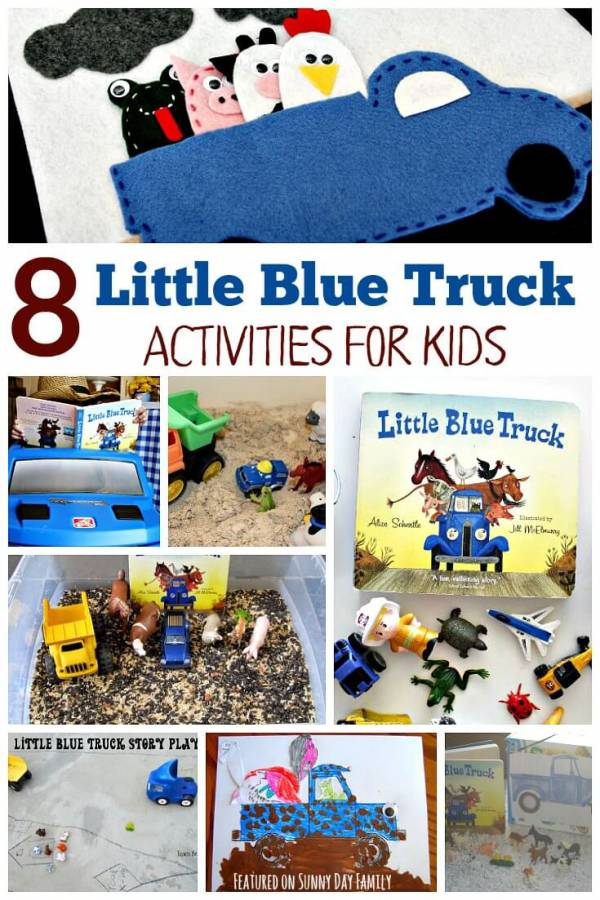 little blue truck activities