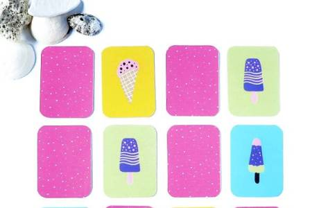 DIY Printable Popsicle Game