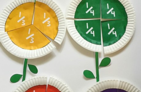 Teach Kids Fractions with These Fun Flowers