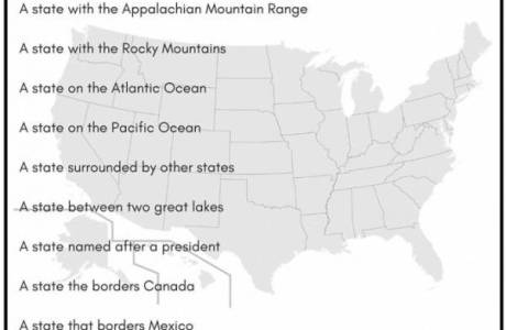 Learn American Geography with a Scavenger Hunt
