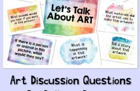 Awesome Art Discussion Topics Printables