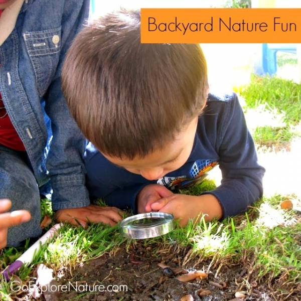 Ideas for exploring nature, whatever the weather
