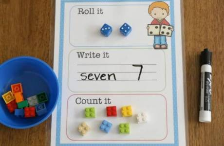 Use This Fun Activity with Kids Learning Counting