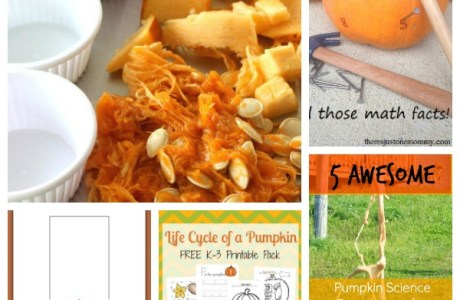 Pumpkin Themed Learning Activities