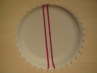 Paper Plate Weaving Step by Step