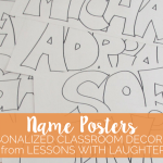 Name Posters – Personalized Classroom Decor