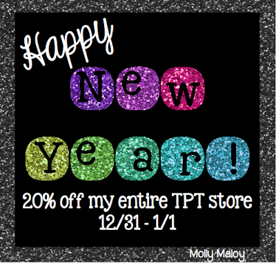 Happy New Year {and sale}!