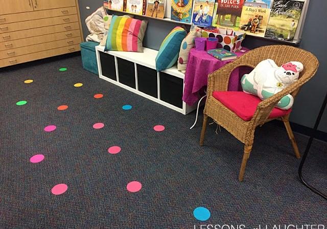 Multiplication Practice using Sit Spots