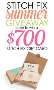 Summer Stitch Fix $700 Giveaway