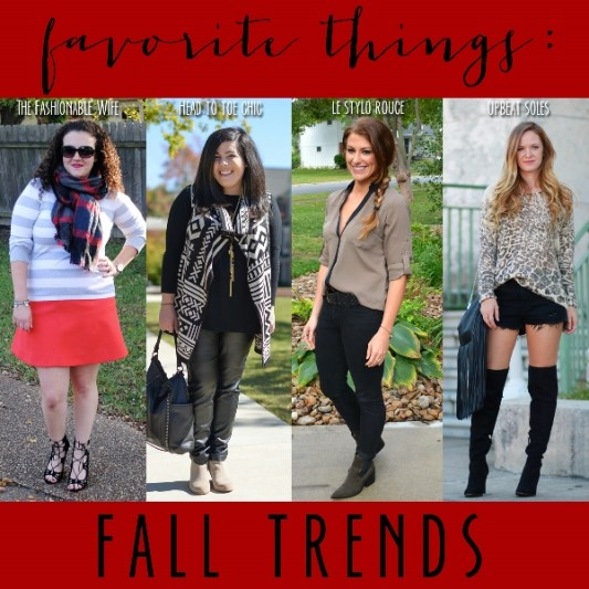 fall trends, lsr
