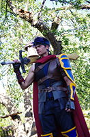 Photo submitted by Joshua Normand. Normand posing as Ike for Comic Con 2016 in Calgary.