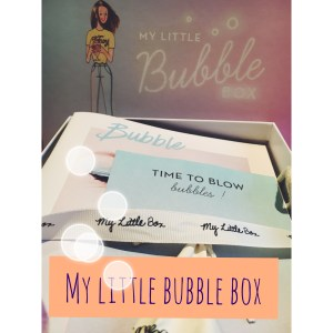 My Little Bubble box