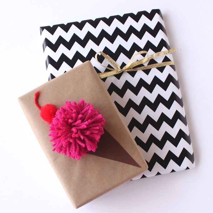 Ice Cream Cone Gift Wrap - 24 Creative Gift Wrap Ideas