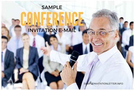 Sample Conference Invitation Email