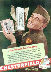 WWII Cigarette Ad