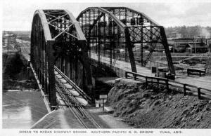 Southern Pacific Railroad Bridge, Yuma