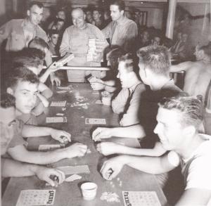 Soldiers Playing Bingo