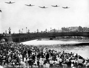 Liberation Celebrations In Paris, Summer 1945