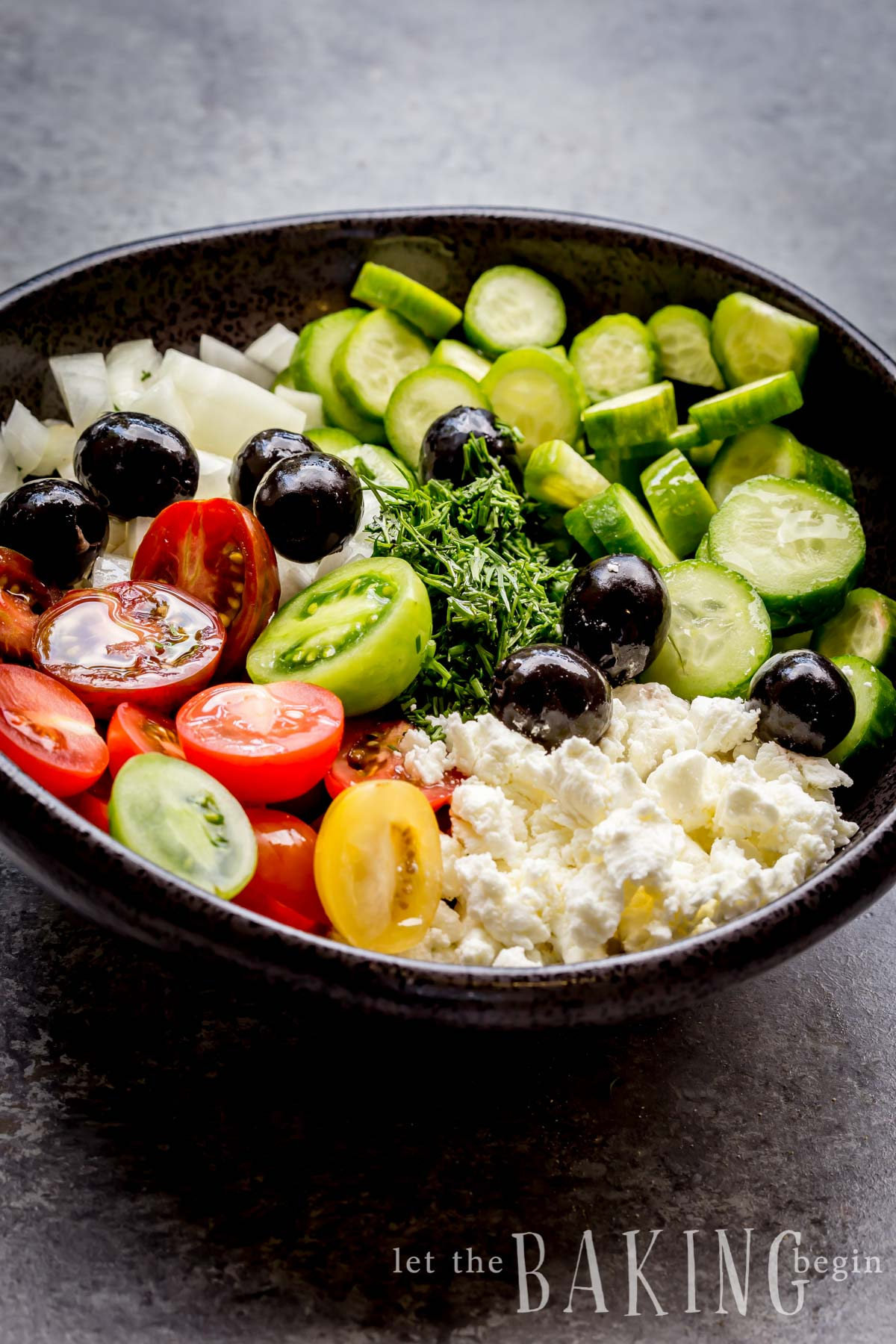 Impeccable Cucumber Tomato Goat Cheese Salad Is A Refreshing Spin On Your Classiccucumber Tomato Cucumber Tomato Goat Cheese Salad Recipe Let Baking Goat Cheese Salad Calories Goat Cheese Salad Ken nice food Goat Cheese Salad