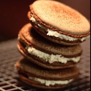 Chocolate Macaroons by Pierre Herme