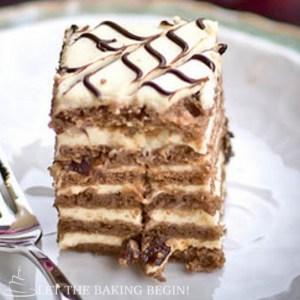 Chocolate Custard Cake