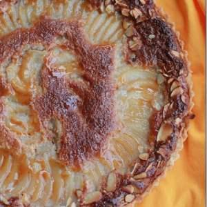 Pear & Almond Cream Tart