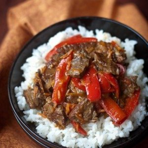 Spicy Beef & Bell Pepper
